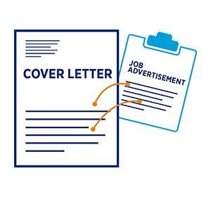 Letter of application or cover letter